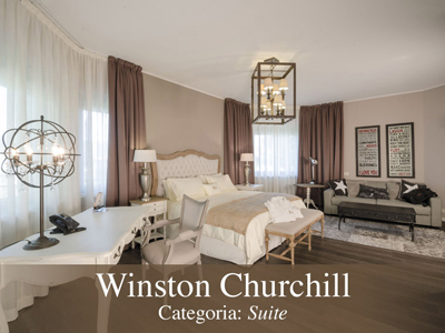 Camera Lusso Winston Churchill