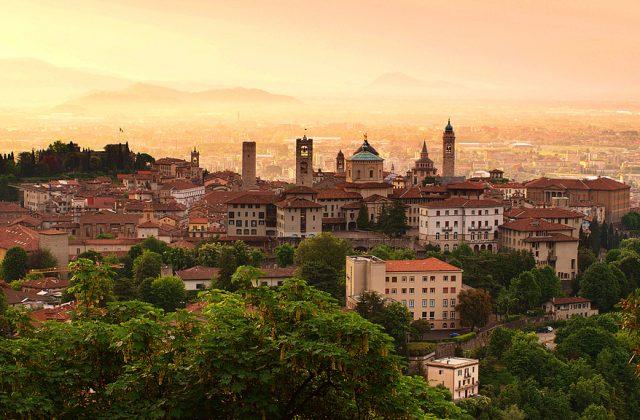 Alba da Bergamo Città Alta